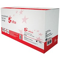 5 Star Compatible - Alternative to HP 12X Black Laser Toner Cartridge