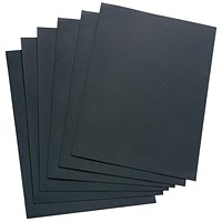 5 Star Leathergrain Covers, 240gsm, Black, A4, Pack of 100