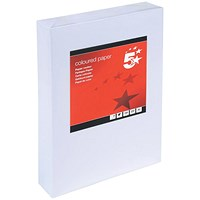 5 Star A4 Multifunctional Card, White, 160gsm, 250 Sheets