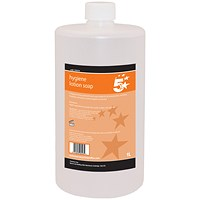5 Star Anti-Bacterial Hand Soap - 1 Litre