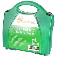 5 Star First Aid Kit HS1 - 1-10 Users