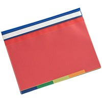 5 Star A4 5-Part File, Coloured Tabs, Blue/Clear