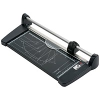5 Star Personal Trimmer, 10 Sheet Capacity, A4, Cutting Length: 320mm, Cutting Table Size 320x157mm