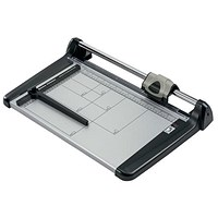 5 Star Heavy Duty Trimmer, Steel Table, Capacity: 15 sheets, 360mm, A4, Silver & Black