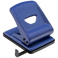 5 Star 2-Hole Punch, Blue, Punch capacity: 40 Sheets
