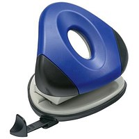 5 Star 2-Hole Punch, Blue, Punch capacity: 25 Sheets