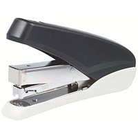 5 Star Power-Save Full Strip Stapler, 40 Sheet Capacity, Takes 26/6 Staples, Black & Grey