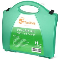 5 Star First Aid Kit HS1 - 1-50 Users