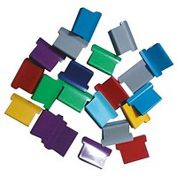 5 Star Ultra Clip 40 Refills / Multicoloured / Box of 150