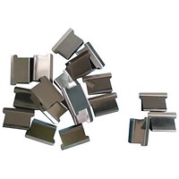5 Star Ultra Clip 60 Refills / Steel / Box of 100