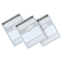 5 Star Telephone Message Pad, 160pp, 127x102mm, Pack of 10