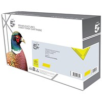 5 Star Compatible - Alternative to Samsung CLT-Y506S Yellow Laser Toner Cartridge