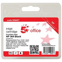 5 Star Compatible - Alternative to HP 364 Black Inkjet Cartridge