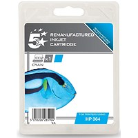 5 Star Compatible - Alternative to HP 364 Cyan Inkjet Cartridge
