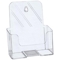 5 Star Literature Holder, Angled, A5, Clear