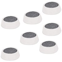 5 Star Plastic Magnets, 20mm, White, Pack of 10