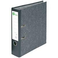 5 Star A4 Eco Lever Arch File, Recycled, Cloudy Grey