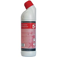 5 Star Drain Cleaner and Degreaser - 1 Litre