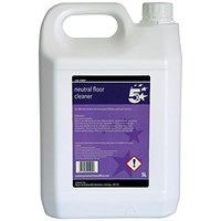 5 Star Floor Cleaner Neutral- 5 Litres