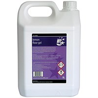 5 Star Floor Gel Lemon- 5 Litres
