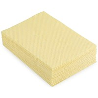 5 Star Heavy-duty Cloths, Anti-microbial, Yellow, Pack of 25