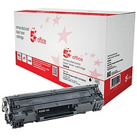 5 Star Compatible - Alternative to HP 83X Black Laser Toner Cartridge