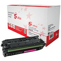 5 Star Compatible - Alternative to HP 508A Magenta Laser Toner Cartridge