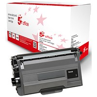 5 Star Compatible - Alternative to Brother TN3430 Black Laser Toner Cartridge