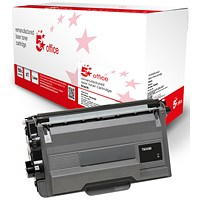 5 Star Compatible - Alternative to Brother TN3480 Black High Yield Laser Toner Cartridge