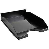 Recycled Letter Tray, 255x345x65mm, Black