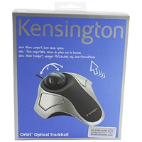 Kensington Orbit Optical Trackball Silver/Grey