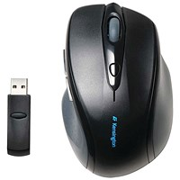 Kensington Pro Fit Wireless Full-Size Mouse Black