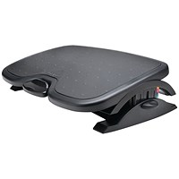Kensington SoleMate Plus Footrest Black with Angle Incline