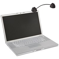 Kensington Flex Clip Copyholder Black with Flexible Gooseneck