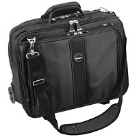 Kensington Contour Roller Laptop Case 17in Black