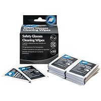 AF Safety Glasses Cleaning Wipes (Pack of 50)