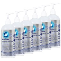 Anti-Bac Sanitising Hand Rub, 500ml - Pack of 6