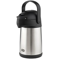 Addis Chrome President Pump Pot Vacuum Jug 2 Litre