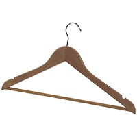 Alba Wooden Coat Hanger (Pack of 25)