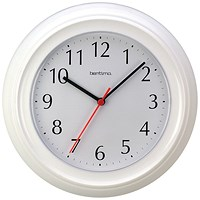 Acctim Wycombe Wall Clock White