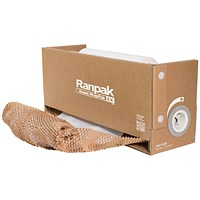 Geami WrapPak Die Cut Kraft Paper in Dispenser 93557