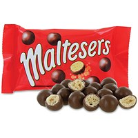 Mars 37g Maltesers No artificial colours, flavours or preservatives (Pack of 40)