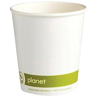 Planet 8oz Double Wall Cups (Pack of 25)