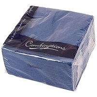 Combinations Napkin 330mm x 330mm Navy Blue (Pack of 100)