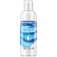 Newtons Labs Antibacterial Hand Gel - 100ml 60% Alcohol, Pack of 80