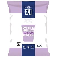 Tate & Lyle White Vending Sugar 2kg (Pack of 6)