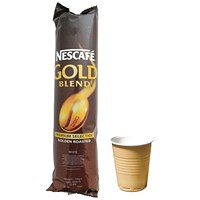 Nescafe Gold Blend Black Coffee Cups (Pack of 25)