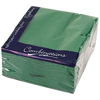 Combinations Napkin 330mm x 330mm Forest Green (Pack of 100)