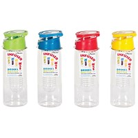Infuser Reusable Water Bottle 750ml Assorted (Pack of 12)