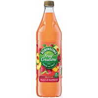 Robinsons Fruit Creations Peach and Raspberry 1L 0402121